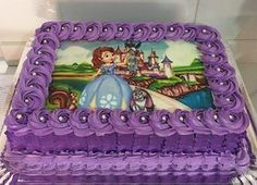 Candy Birthday Cakes, Birthday Cake Roses, Birthday Wishes Cake, Birday Cake, Sofia The First Birthday Cake, Princess Sofia Cake, Sophia Cake, 25 Anniversary Cake, Prince Cake