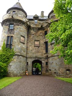Falkland Palace, one of Scotland's great Renaissance houses. (Mary, Queen of Scots 2014)
