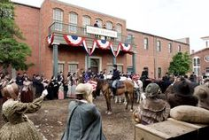 """When it all comes together on PBS next year, the filmmakers hope the combination will say success for """"Mercy Street,"""" a Civil War drama being filmed in Richmond and Petersburg. Mercy Street Pbs, You Scare Me, Downton Abbey, History, Period Costumes, Movies, Brother, Glow, Aesthetics"""