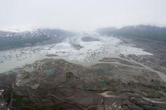 Glacier's End in Kluane National Park, Yukon Territory