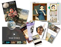 NGA Learning Resources -- free lending library from the national gallery of art