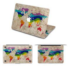 Map Macbook decal macbook sticker Laptop by creativedecalskin, $59.99