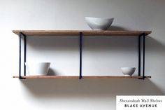 blake avenue - all sorts of reclaimed wood shelving and furniture pieces.