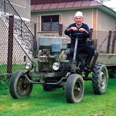 Home made tractor :)