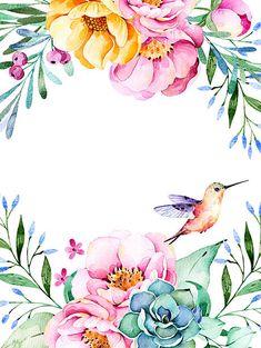 Hermosas tarjetas de acuarela con rosas y flores, vegetación, las suculentas planta, - ilustración de arte vectorial