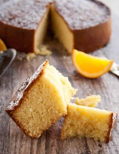 A refreshingly light tasting yet very moist cake made with fresh squeezed orange juice, orange zest and your favorite mild olive oil Orange Olive Oil Cake, Orange Zest, Low Fat Cake, Cake Recipes, Dessert Recipes, Party Recipes, Greek Cookies, Rustic Cake, Cake Cover