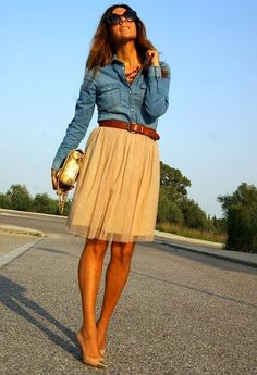 Querida Claudina: Faldas de tul: bodas, comuniones, bautizos y todos los días!
