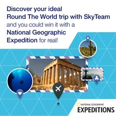 Plan your ideal Round The World trip on Facebook!