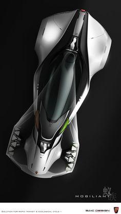 Futuristic Car, LADC13-Roewe-Mobiliant