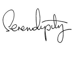 serendipity tattoo text