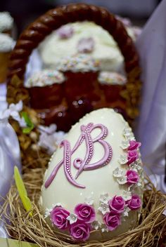 Пасхальные куличи- самое красивое оформление Easter Chocolate, Chocolate Art, Easter Cookies, Easter Treats, Hoppy Easter, Easter Eggs, Spring Treats, Cookie Favors, Recipes From Heaven