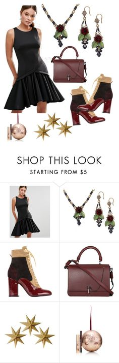 """""""The Night Is Still Young"""" by buggybug076 ❤ liked on Polyvore featuring Coast, Laurence Dacade, Carven and LumaBase"""