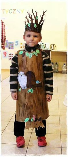 Home Decor ideas &Home Garden & Diy Carnaval Costume, Costume Halloween, Tree Costume, Cool Costumes, Halloween Items, Halloween Party, Diy For Kids, Crafts For Kids, Halloween Karneval