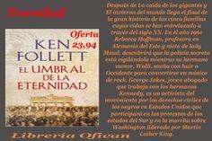 Novedad libros y Ebooks EL UMBRAL DE LA ETERNIDAD (THE CENTURY 3)     FOLLETT,KEN  Editorial:     PLAZA & JANES