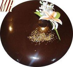 Cobertura de chocolate brillante para tartas Chocolate Dreams, Chocolate Bomb, Chocolate Ganache, Chocolate Desserts, Pie Cake, No Bake Cake, Blackberry Syrup, Ganache Recipe, Icing Frosting