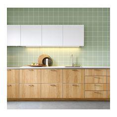Permalink to Beautiful Ikea Green Kitchen Cabinets Green Kitchen Cabinets, Farmhouse Kitchen Cabinets, Painting Kitchen Cabinets, Kitchen Cabinet Design, Ikea Kitchen, Kitchen Tiles, Kitchen Interior, Kitchen Decor, Kitchen Board