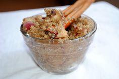 Apple Cinnamon Breakfast Quinoa - Fit Foodie Finds