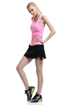 Tennis Skort, Fitness Activities, Gym Workouts, Ballet Skirt, Sporty, Fashion, Moda, Tutu, Fashion Styles