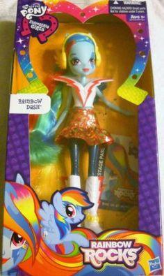 My Little Pony: Equestria Girls- Rainbow Rocks Rainbow Dash | eBay