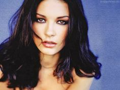 Catherine Zeta Jones - beautiful Welsh actress starred as Velma Kelly in the 2002 film adaptation of the Broadway musical CHICAGO, a critical & commercial success, and received an Academy Award for Best Supporting Actress,