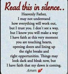 Prayer Scriptures, Bible Prayers, Faith Prayer, Bible Verses Quotes, Faith Quotes, Wisdom Quotes, Qoutes, Good Prayers, Prayers For Healing