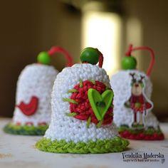Christmas bell - free pattern by VendulkaM