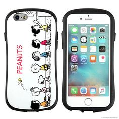 iPhone6s iPhone6ケース カバー スヌーピー iface First Class 正規品 ストラップホール / チケット売り場