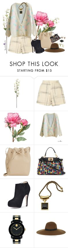 """""""10. That lovely sun on the 5:30 pm,"""" by gabyidc ❤ liked on Polyvore featuring Linea, Vivienne Westwood Anglomania, OKA, Mansur Gavriel, Fendi, Alexander McQueen, Movado, Maison Michel, Jennifer Meyer Jewelry and bhalo"""