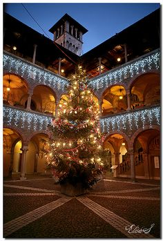 Christmas in Bellinzona, Canton of Ticino, Switzerland www.european-backpacking.com #europeanbackpacking