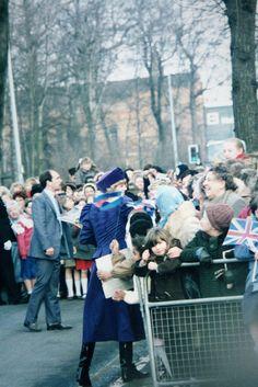 Lady Diana walk along Holderness Road, via Flickr.