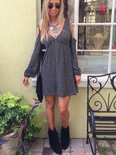 Black Tulip Dress | Pretty Rebellious Boutique