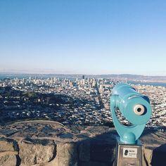 Twin Peaks in San Francisco - more travel inspiration at jojotastic.com