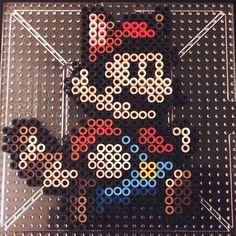Super Mario perler beads by dominoez