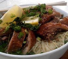 Duck Thai Noodle Soup