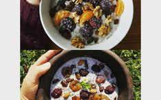 Rychlo chia pudink Acai Bowl, Oatmeal, Breakfast, Food, Jars, Acai Berry Bowl, The Oatmeal, Morning Coffee, Meals