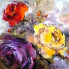 Petro Neal  Alice Art Gallery Neal Art, Art Gallery, Alice, Roses, Painting, Art Museum, Pink, Fine Art Gallery, Painting Art