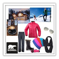 """""""Introducing the 2015 Winter Collection from SOREL: Contest Entry"""" by sselma ❤ liked on Polyvore featuring SOREL, Ray-Ban, The North Face and Manzella"""