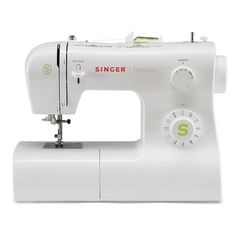 The SINGER Tradition sewing machine features stitches including a fully automatic buttonhole. This lightweight, basic sewing machine boasts an automatic needle threader, adjustable presser foot pressure, adjustable tension, extra-h Sewing Basics, Sewing For Beginners, Sewing Hacks, Basic Sewing, Sewing Tips, Sewing Projects, Diy Projects, Sewing Machine Online, Sewing Machine Reviews