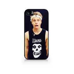 IPC-240 - Luke Hemmings - Luke - 5SOS - 5 Seconds of Summer - iPhone... (£1.29) ❤ liked on Polyvore featuring accessories, tech accessories, 5sos, iphone, luke, phone case and samsung
