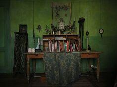Miss Clara Home chambre verte