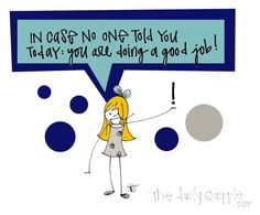 Hey, Give Yourself Some Credit | The Daily Quipple