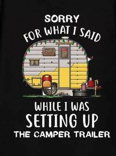 How To Choose The Best Type Of Camper - family camping site Camping Humor, Camping Glamping, Beach Camping, Camping Sayings, Outdoor Camping, Camping Stuff, Camping Quilts, Glam Camping, Funny Camping