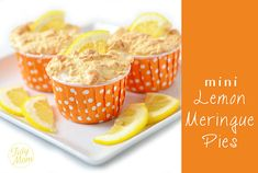 Mini Lemon Meringue Pies recipe at TidyMom.net