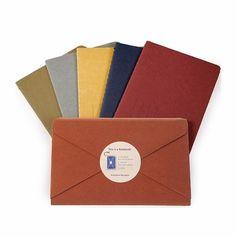 Love this idea. Seems very Simone to me. Moleskine Messages Pocket Postal Notebook (3.5 x 5.5), MoleskineUS