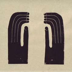 "172 Likes, 2 Comments -  Moon To Moon  (@moontomoon) on Instagram: ""Hands (Linocut Print) – Nicolas Burrows @nicolas.burrows"""