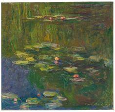 Claude Monet's Le bassin aux nymphéas, 1919, estimated at $25 million to $35 million, sold for $27 million.COURTESY CHRISTIE'S
