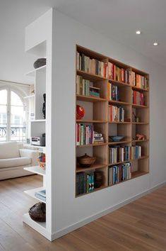 Bookshelf Study Storage Living Room Porch Home DecorationFurniture B Home Interior Design, House Design, Home And Living, House Interior, Home, Interior, Home Decor, Bookshelves Diy, Bookshelf Design