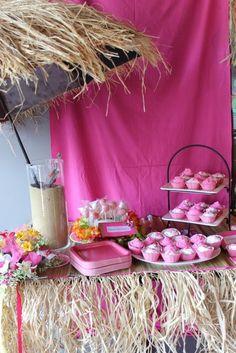 Fiesta Hawai en color rosa
