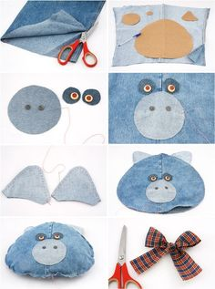 Cool Ideas for Old Jeans