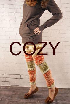 Cozy Fleece Leggings Free Pattern: Into the Woods